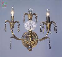 luxurious antique brass wall lamp lighting