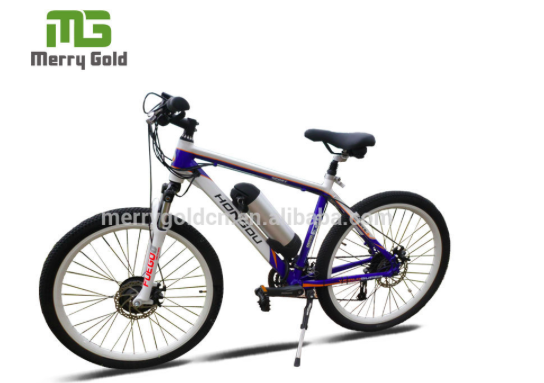 High speed 27 speed bottle battery racing electric bike with 8Fun motor