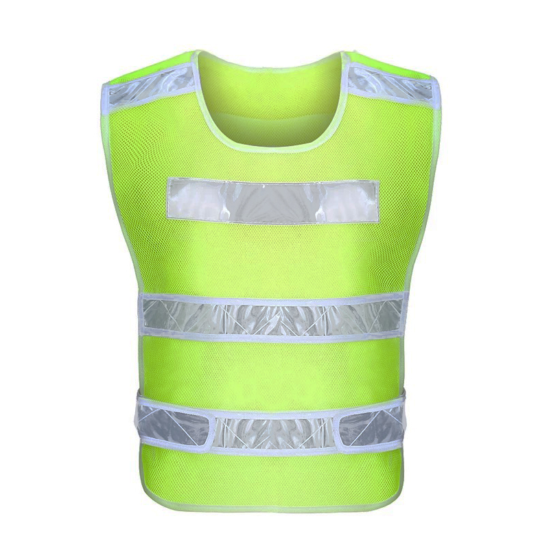 Mesh Clothing Reflector PVC Prismatic Tape Sewing Reflective Child Safety Vest