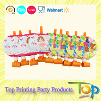 Party Paper Blowouts /Party Horn Noise Maker Kid Toys
