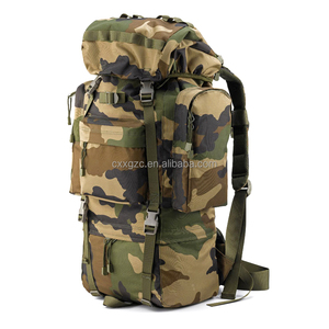 60L Camouflage Military Backpack Outdoor Hiking Army Backpack For Sale