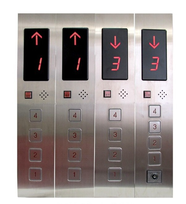 Elevator Cabin Operation Panel Dumbwaiter/Lift Call Box Button Panels For Elevators