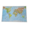 Material Tyvek Globle Map Art Map