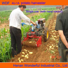 Agriculture machine 1.5m width mini sweet small potato harvester