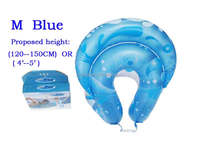 Wholesale Raying Promotion durable plastic inflatable swimming pool float swimming ring M inflatable air