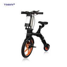 Chinese factory electric two wheel mini foldable e bike