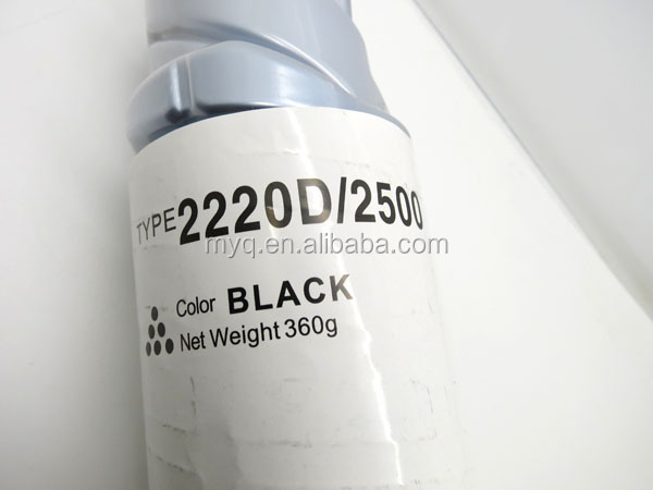 Compatible Toner 2220D/2500D for Ricoh Aficio 1022/1027/2022/2027