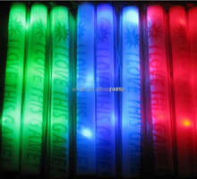 LED light foam stick which you can OEM logo