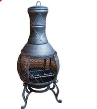 High Quality Burner Grill fire pit with chimney
