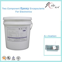 Chemicals two part transparent epoxy adhesive glue