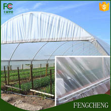 China cheap price agriculture film tunnel greenhouse covers anti uv waterproof plastic membrane