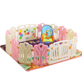 Kids plastic playpen 12+2 Panels
