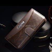 2016 TOMKAS Belt Clip Universal PU leather case Phone Wallet Leather flip cover case for samsung galaxy S6 S7