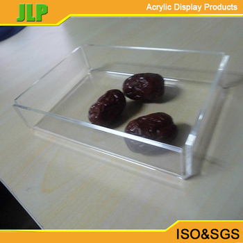 Acrylic fruit tray food tray for hotels