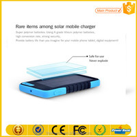 China manufacturer portable solar energy storage battery solar energy product power bank 5000 mah