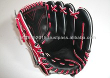 Red lace hand made Baseball glove/Japanies style glove