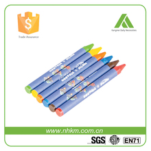 WAX CRAYON IN NORMAL SIZE WITH GOOD QUALITY AND REASONABLE PRICE SUPPLIED BY OEM FACTORY WHICH PASSED