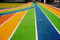 Colored EPDM Rubber Granules/Outdoor Rubber Playground Running Track