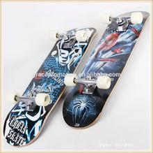Hot sale canadian maple graphic deck complete professional skateboard