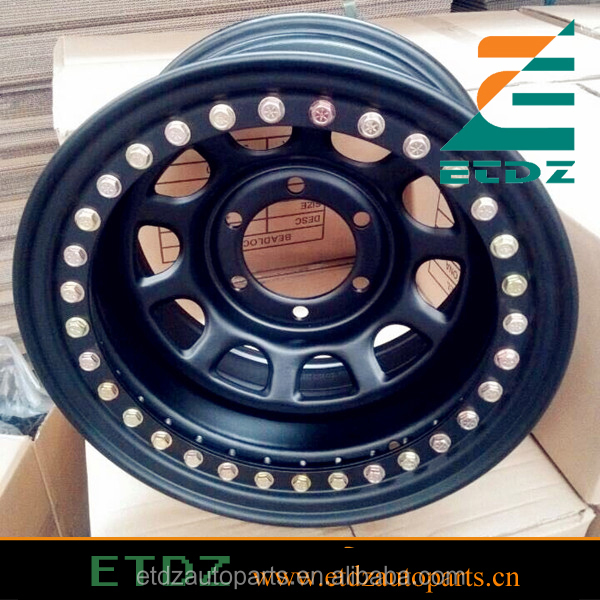 D window Hot 4x4 offroad steel beadlock wheel