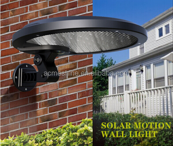 auto on and off solar lights solar cell light garden with 18650 lithium battery