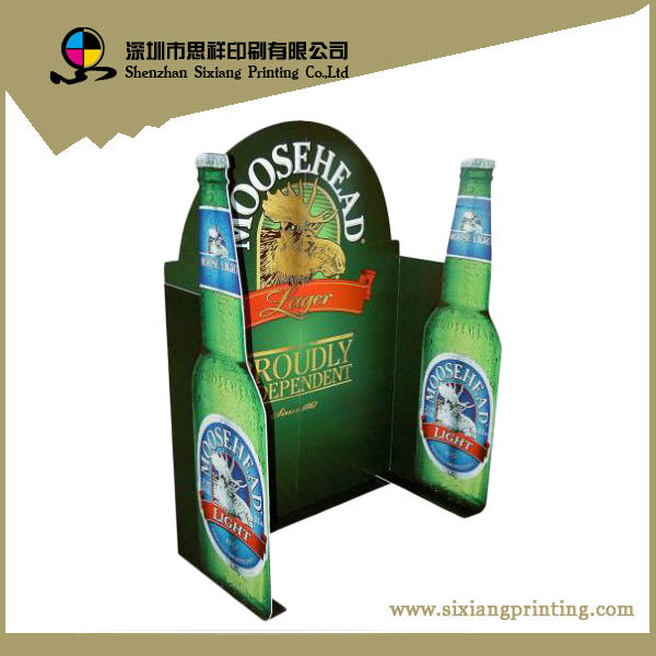 printed corrugated cardboard trifold display board for beer buy display advertising board product on alibabacom - Tri Fold Display Board
