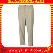 China OEM custom plain dri fit golf pants trousers for men