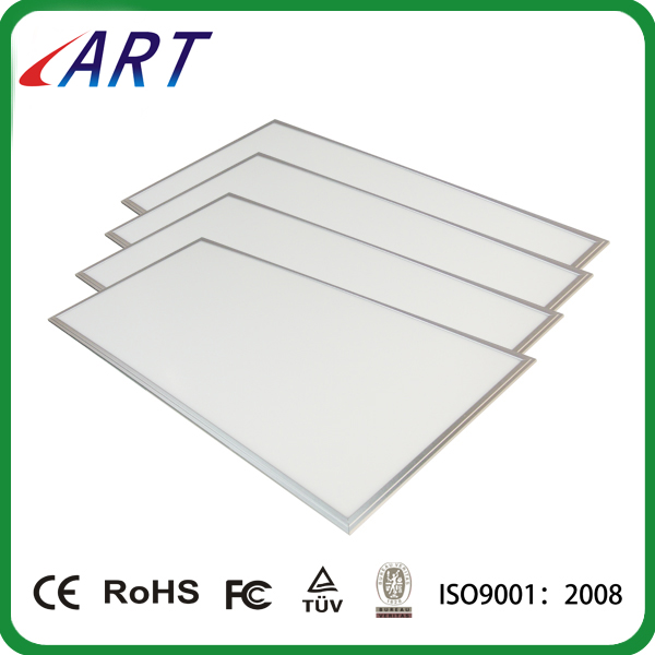 90-100 lm/w Flicker free UGR<19 60W 1200x600mm 2x4 ft led suspended garage ceiling panel lighting