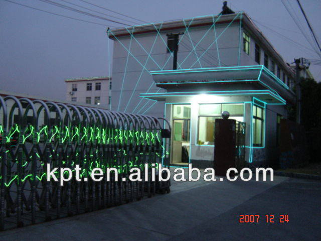 Holiday lighting outdoor flashing EL neon cable