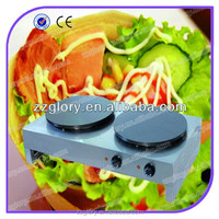 Double Rotating Electric Crepe Maker / Automatic Crepe Machine