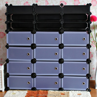 Folding cube cabinet shoe rack accessories organizing toys for living room (FH-AL013)