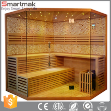 Hot selling traditional Salt Room sauna with Himalaya salt and luxury star light