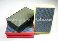 diamond resin bond polishing pads for glass polishing