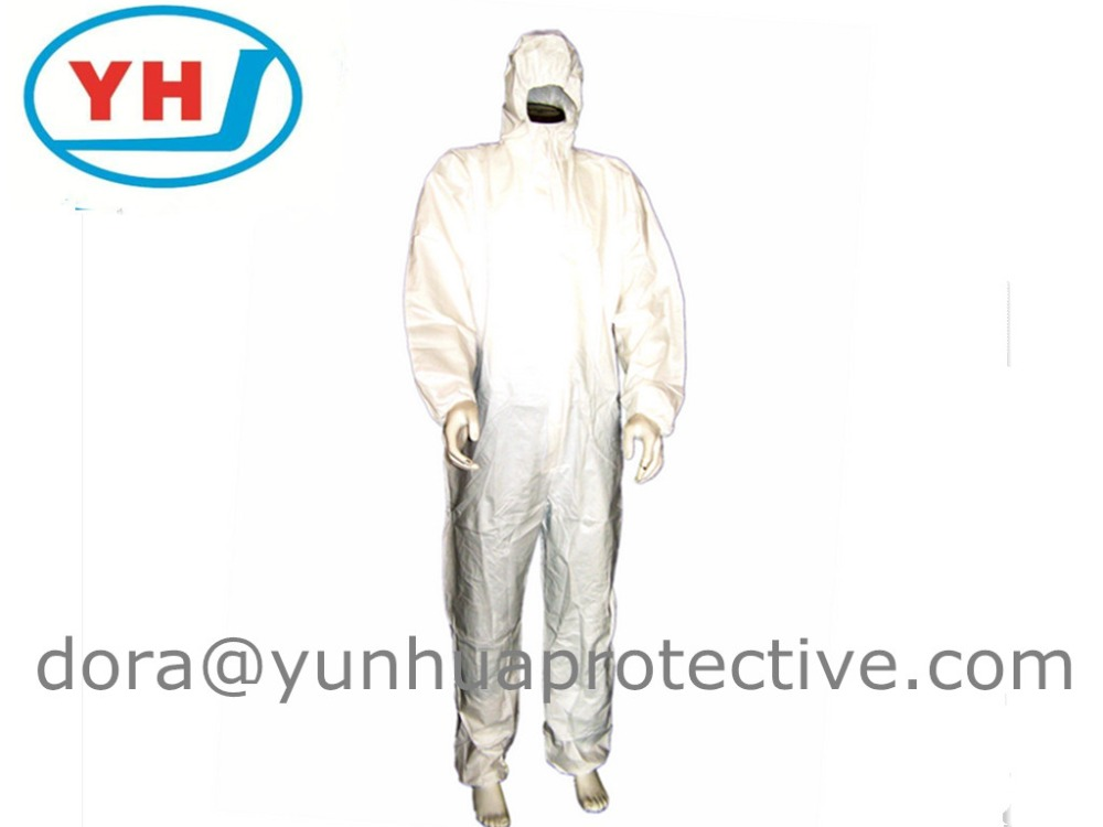breathable chemical protection disposable smocks