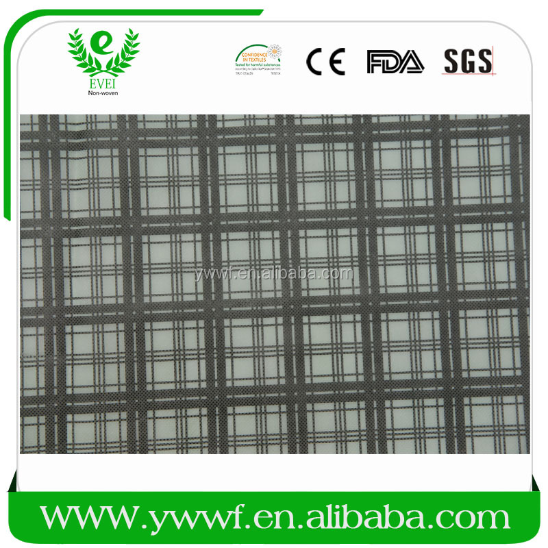 plain style spunlacing non woven raw materials material