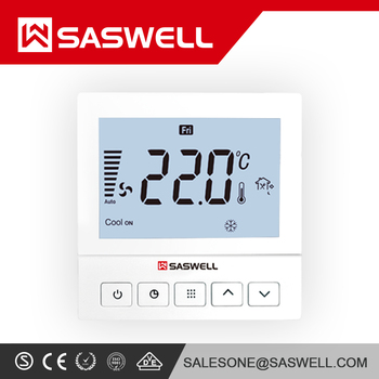 NEW White Honeywell T8775C square Digital non programmable thermostat Heat & Cool