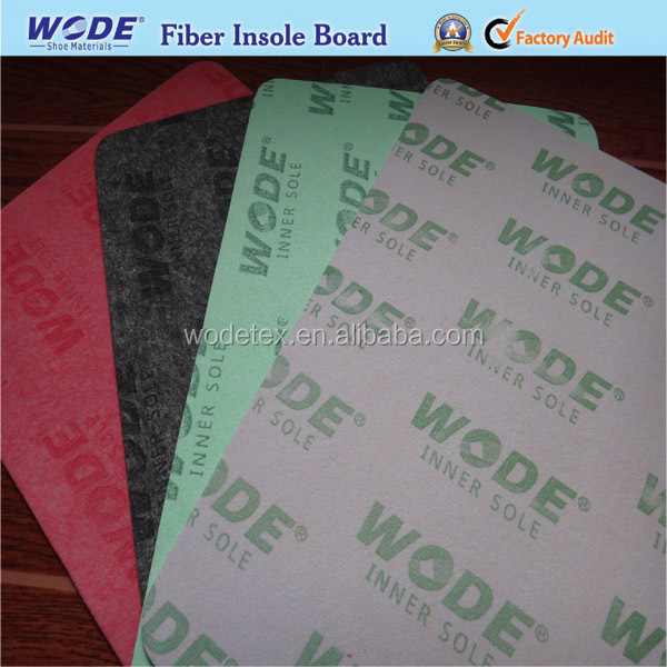 2015 Hot sales fiber insole shoes,shoes making material