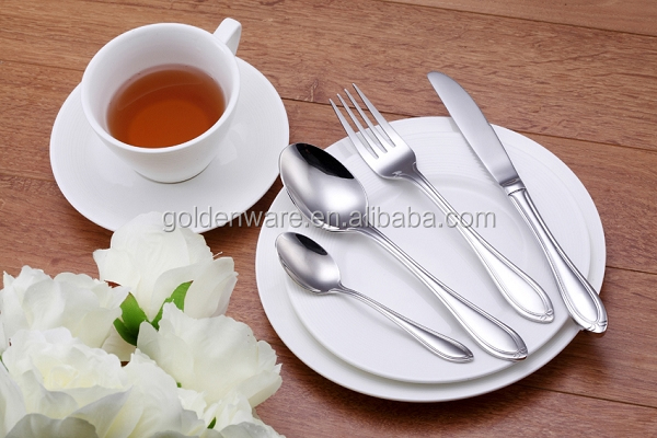 GW-G38 New Products High Reflective stainless steel cutlery silverware