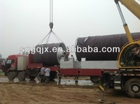 2014 New design and best sale rubber pyrolysis recycling machine for used tyres or plastic or rubber with CE