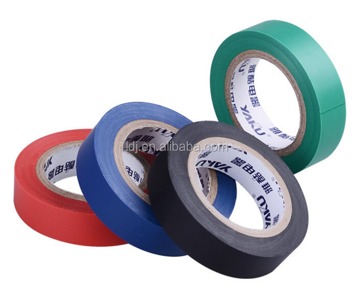 PVC insulation tape/Factory of pvc electrical adhesive tape flame retardant tape