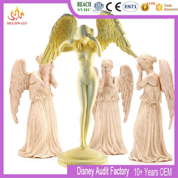 2016 wholesale Resin pretty home decor sexy flying fairy figurines
