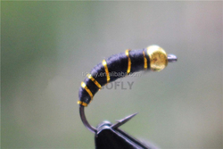 Beadhead Buzzers Flies Black Nymphs Fly Fishing Lures