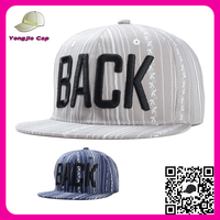 Good Quality Custom 3D Embroidery Two Tone Basketball Snapback Hat