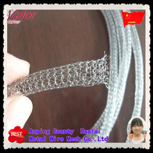 Knitted Wire mesh EMI Shielding Wire Mesh Gas Tubes Remote Mesh