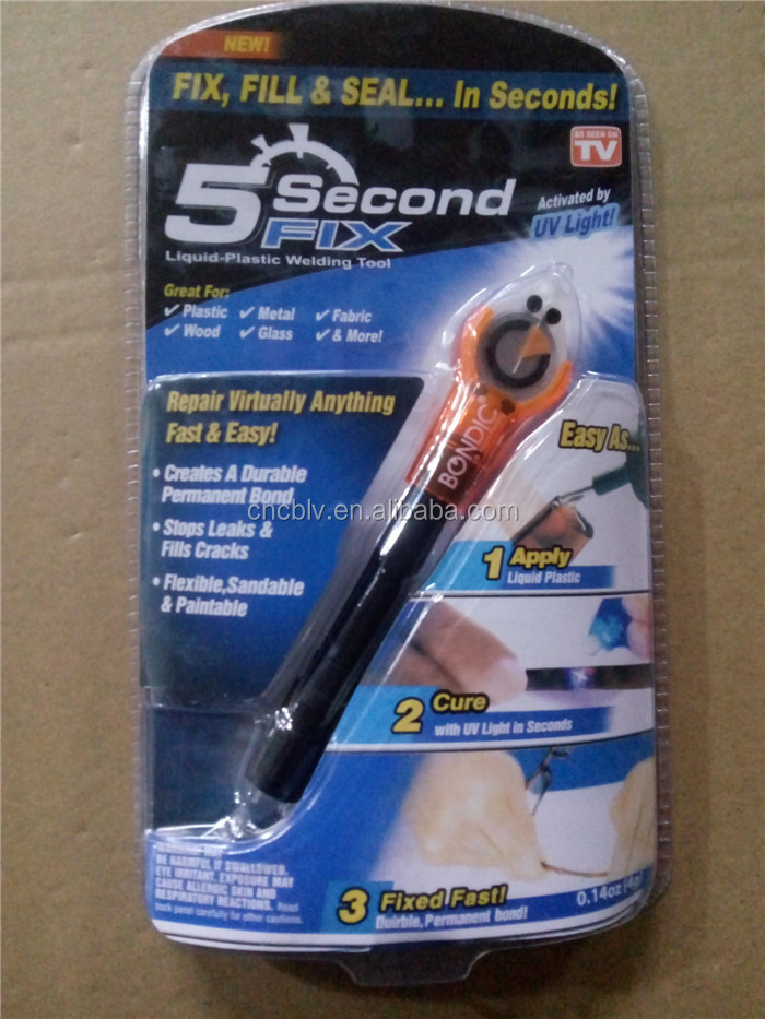 UV light quick drying 5 second glue fix 5 second adhesive