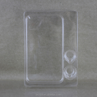 Eco-friendly clear PET blister tray for accessory packaging