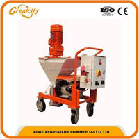 advanced technology gypsum/plaster/cement/mortar spraying machine