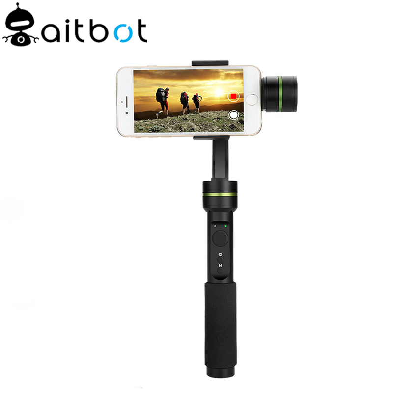 Action camera stabilizer 3 axis handheld himbal for smart phone stabilizer and stabilizer camera