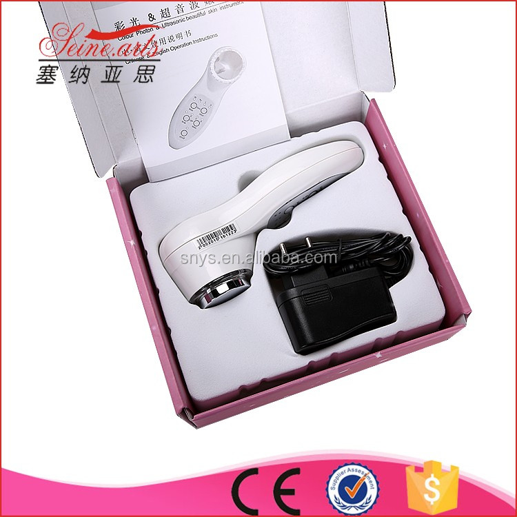 ion photon ultrasonic skin care machine beauty personal machine