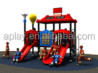 Outdoor Inflatable Bouncer with Slide for Kids Playing